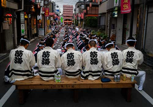 Portrait of Kishiwada Festival